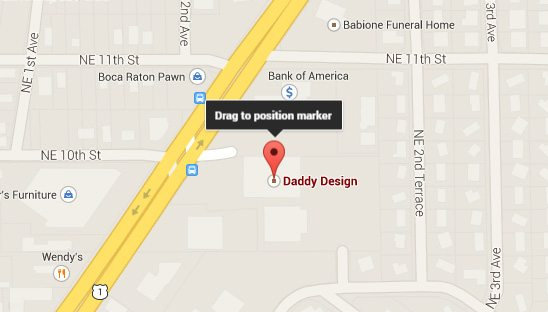How to Fix an Incorrectly Positioned Google Map Marker for a Google Places Business Listing