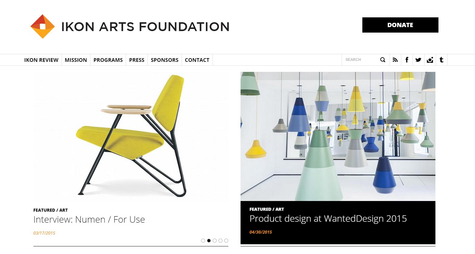 ikon art foundation home