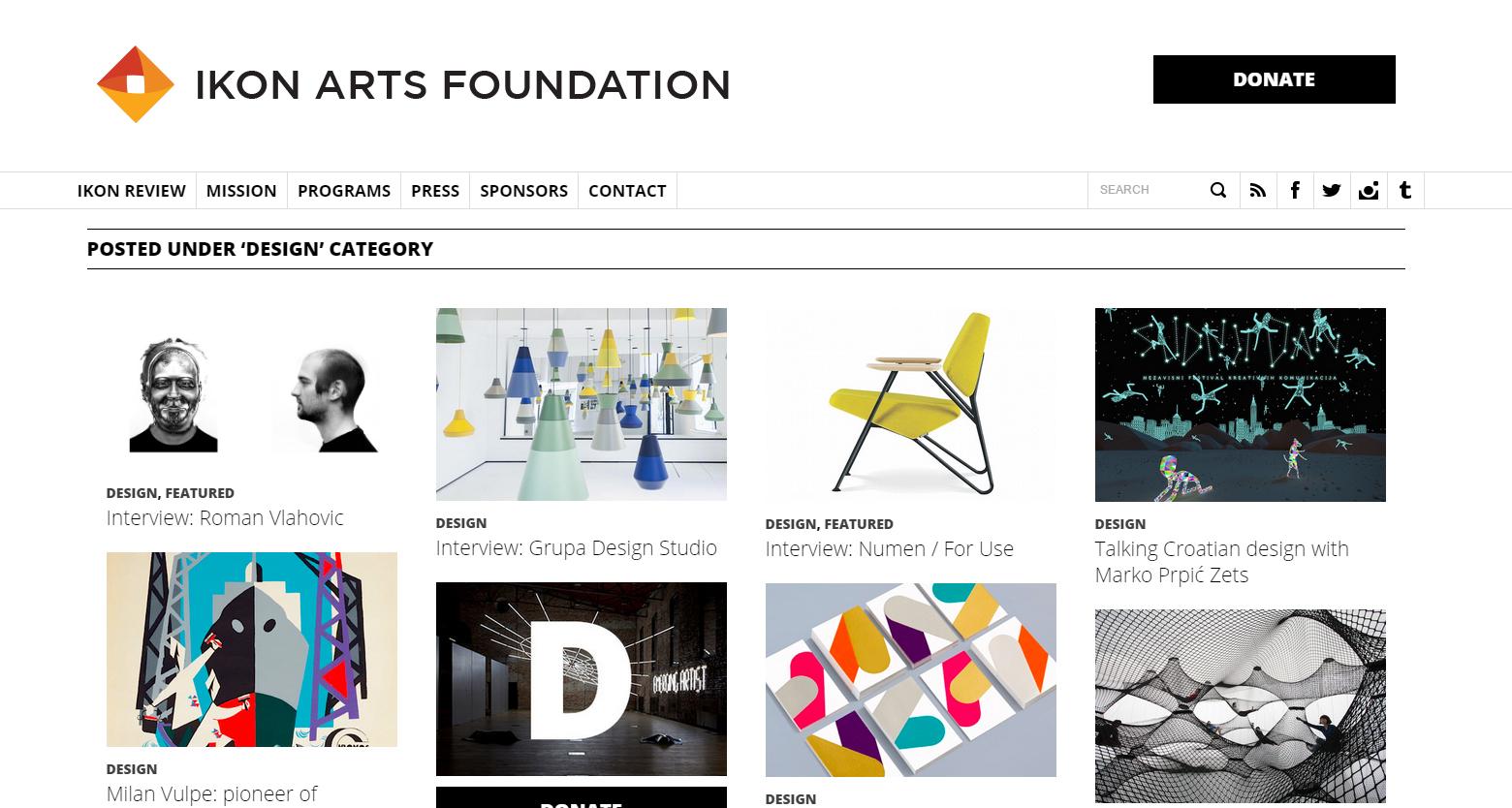 ikon art foundation inside
