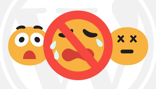 How to Disable Emoji Support in WordPress 4.2+ without a Plugin