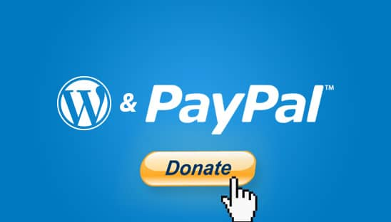 How to add a PayPal Donate Button Shortcode in WordPress